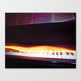 Rhythm of Fire Canvas Print