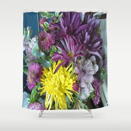 Mixed Flower 2 Shower Curtain