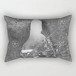czarna gruszka Rectangular Pillow