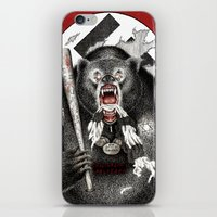 tarantino iPhone & iPod Skins featuring Inglourious Basterds (Quentin Tarantino) The Bear Jew by ARTbyGB
