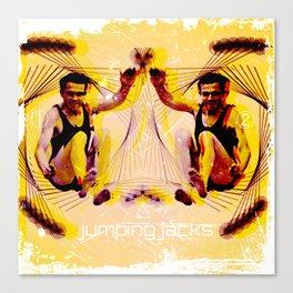 Jumping Jacks Canvas Print