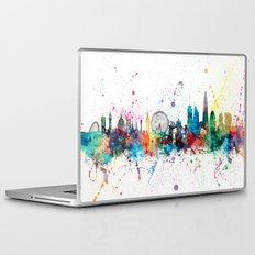 London England Skyline Laptop & iPad Skin