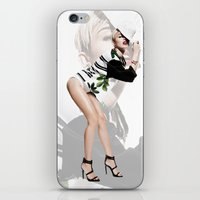 miley iPhone & iPod Skins featuring Miley by eriicms