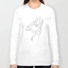 Giraffe Line Long Sleeve T-shirt