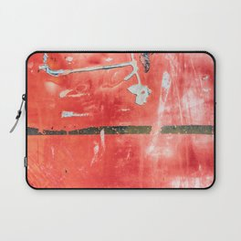 Etched Scratchings of a Mad Red Monk Laptop Sleeve