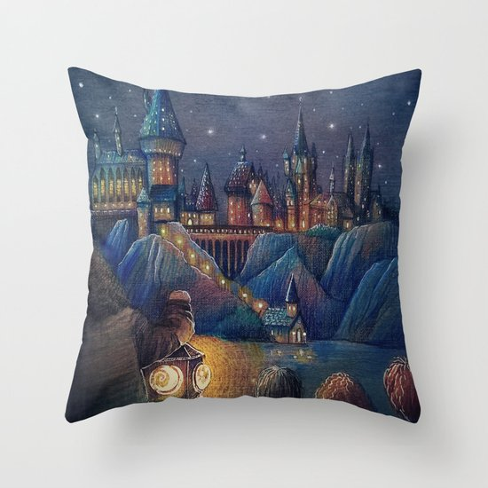 Welcome home Throw Pillow by Nokeek Society6