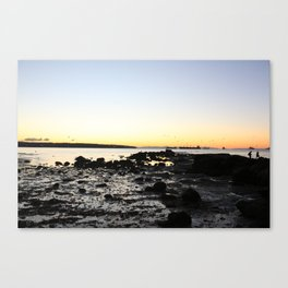 Sunset from Stanley Park Canvas Print