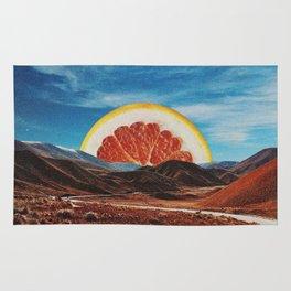 Orange Vale Rug