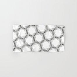 crazy hexagons Hand & Bath Towel
