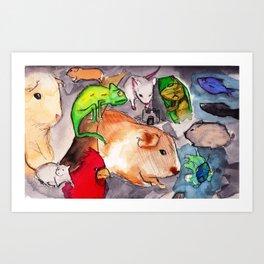 PetSmart Art Print