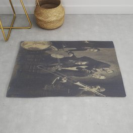 Vintage Photograph- New Orleans Jazz Rug