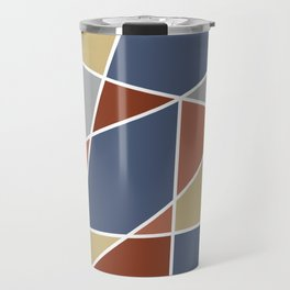Cool Stained Tiles Travel Mug