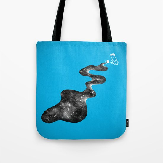 Don't Cry Over Spilled Milky Way Tote Bag