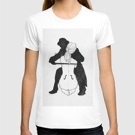 Violin for love. T-shirt