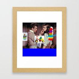 Dark side of rebel Framed Art Print