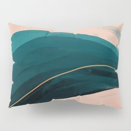 California Watercolor Winter Pillow Sham