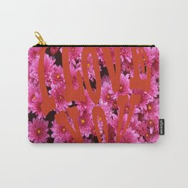 loves flower Carry-All Pouch