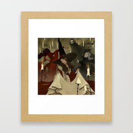 The Witches Ball Framed Art Print