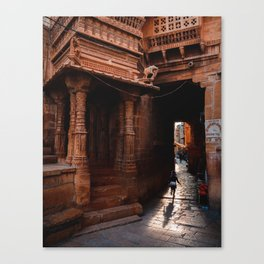Return to Jaisalmer Canvas Print