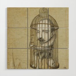 Michel Du Montaigne (1533 - 1592) An Inspirational Philosopher; Prison in the Sky Wood Wall Art