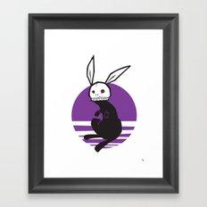 Hare Bone Framed Art Print