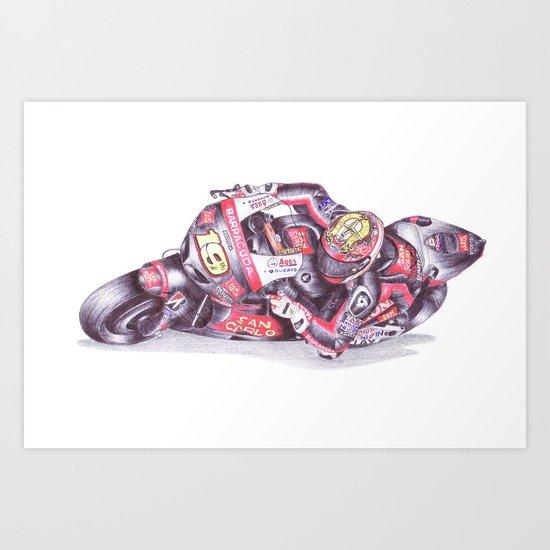 Ballpoint Pen, 19 , Alvaro Bautista Art Print