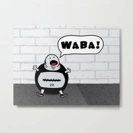 WABA! Metal Print