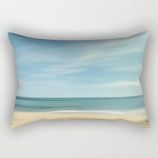 """""""Vintage summer"""". Summer beach. Rectangular Pillow"""