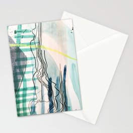 MAPPED WATERS Stationery Cards