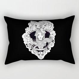 calavera lady Rectangular Pillow
