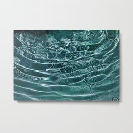 Iridescent Teal Purple Ocean Dream #1 #water #decor #art #society6 Metal Print