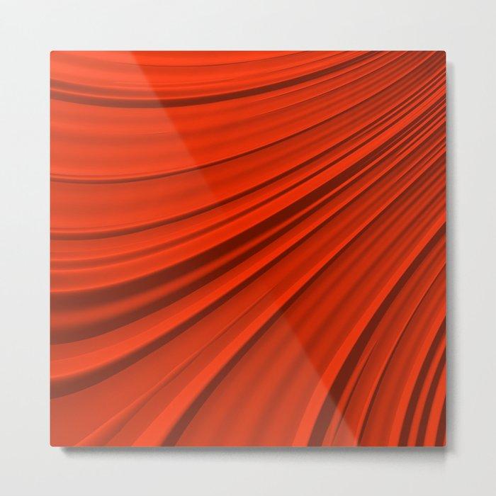 Renaissance Red Metal Print
