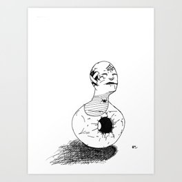 """life"" Art Print"
