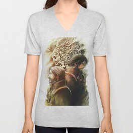 King and Prince ( Final fantasy XV ) Unisex V-Neck