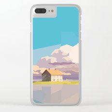 One Way Ride Clear iPhone Case