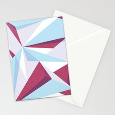 Maroon & sky  Stationery Cards