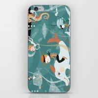 underwater iPhone & iPod Skins featuring underwater by Orit Bergman