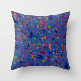 flower of my mind Throw Pillow