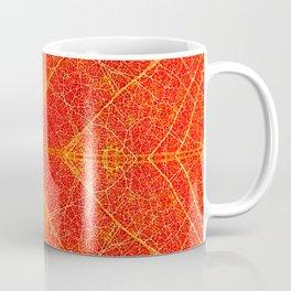 Maple Leaf Symmetry Coffee Mug