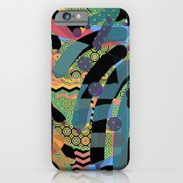 HODGE PODGE FIGURES IN LIMBO Design Illustration Pattern Print iPhone Case