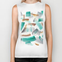 180719 Koh-I-Noor Watercolour Abstract 32| Watercolor Brush Strokes Biker Tank