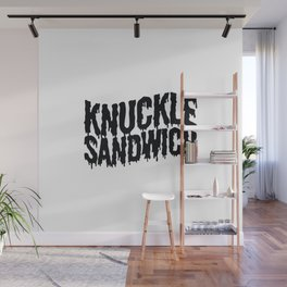 Knuckle Sandwich Ringer Wall Mural