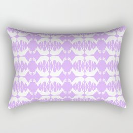 Oh, deer! in lilac purple Rectangular Pillow