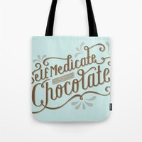 Chocolate RX Tote Bag