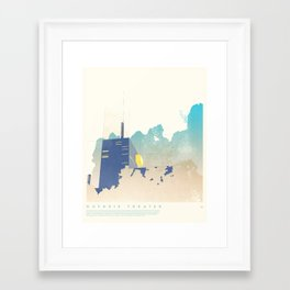 Guthrie Theater - Minneapolis, MN Framed Art Print