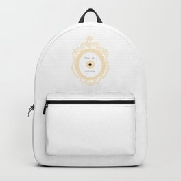 press for champagne button Backpack