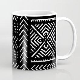 Line Mud Cloth // Black Coffee Mug