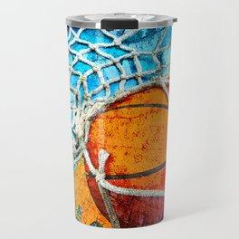 Basketball art print 103 Travel Mug