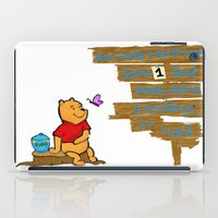 winnie the pooh iPad Cases featuring Winnie The Pooh by LaLunaBee