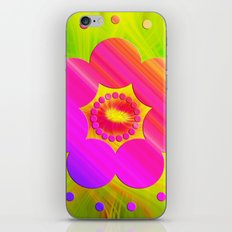 Mandala Pink Daisy iPhone & iPod Skin